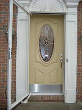 3/4 Oval Entry Door
