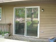 Old Sliding Patio Door