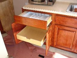 Drawer Organizer & Pull out Shelf