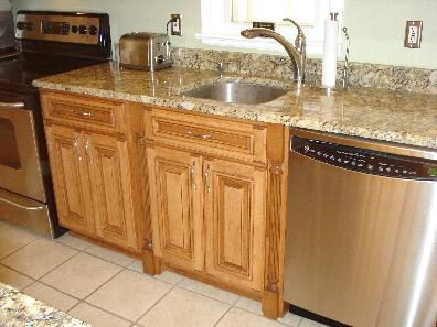 Really Makes This Sink Cabinet Look Gorgeous The Kitchen Doesn T Have